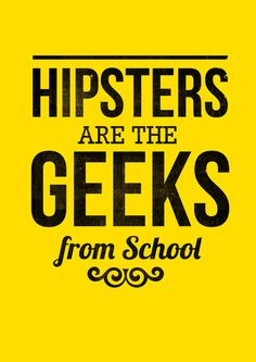 #hipster