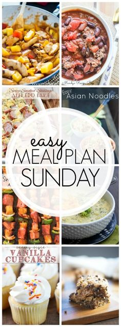 Easy Meal Plan Sunday {Week 45} - A Dash of Sanity