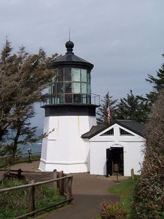 Cape Meares Lighthouse in Oregon - what an adventure I had finding this one.  August 2012