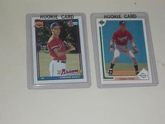 Atlanta Braves-C.Jones, Avery,Smoltz,Glavine, Gant,Justice RC +150 Mis'l - EX-NM