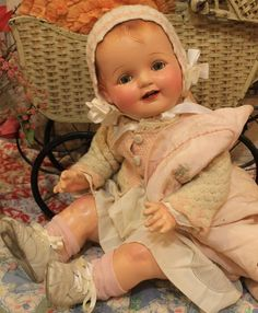 .Gosh I love this doll ! Her rosey cheeks are so pretty !