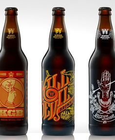 Oh Beautiful Beer celebrates remarkable graphic design from the world of beer. Wine Label Design, Bottle Design, Oh Beautiful, More Beer, Beer Labels, Coffee Labels, Bros, Beer Brands, Bottle Packaging