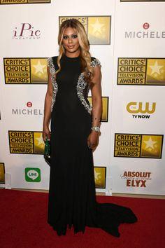 2014 Critics' Choice Television Awards Red Carpet - Laverne Cox