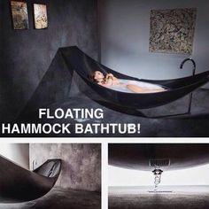 Imagine a floating bath tub?