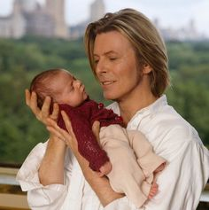 David Bowie picture with daughter Alexandria Zahra Jones
