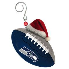 Seattle Seahawks Christmas Ornament