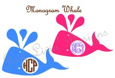 Monogram Whale Monogrammed by JustLivinDesigns on Etsy https://www.etsy.com/listing/210981732/monogram-whale-monogrammed