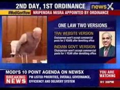 Congress questions Ordinance route for Nripendra Misra's appointment