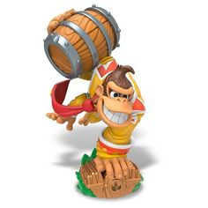 Skylanders SuperChargers SuperCharged Combo Pack - Donkey Kong + Barrel Blaster,