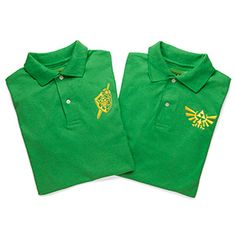 Business casual does not mean you have to give up your identity. Polos are acceptable, so it's time to show off your love of all things Zelda.