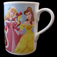 Disney Princess Mug Cup Snow White Cinderella Ariel Belle Jasmine Aurora 8 OZ | Collectibles, Disneyana, Contemporary (1968-Now) | eBay!
