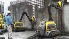 This Concrete-Eating Robot Can Recycle An Entire Building On The Spot