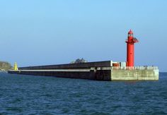 Lighthouses of South Korea: Northern Busan, Middle Breakwater Lights