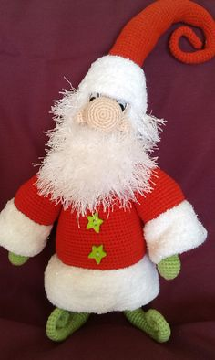 Knitting Pattern Vintage Santa Clause//Father Christmas Xmas Toy Plus Baby/'s Ball