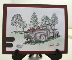 Stampin up Countryside 120495 Udderly Awesome Stamping from the heart