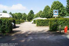 Camperplaats Cleres - Aire de Camping-Car Cleres - Frankrijk - in 2012