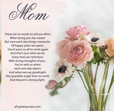Trendy Birthday Quotes For Mom In Heaven Families Ideas Missing Mom In Heaven, Mom In Heaven Quotes, Mother's Day In Heaven, Mother In Heaven, Heaven Poems, Mom Poems, Mother Poems, Mothers Day Quotes, Mom Quotes