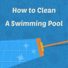 No one wants to swim in a dirty, nasty pool! Learn how to clean a swimming pool the right way, and keep it clear, beautiful, and swimmable at all times. Cleaning Above Ground Pool, Above Ground Pool Steps, Pool Cleaning Tips, Cleaning Hacks, Swimming Pool Maintenance, Pool Hacks, Pool Care, Pool Liners, Diy Pool