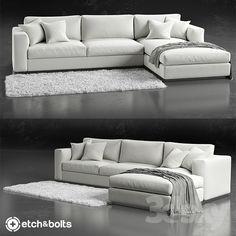 Models Sofa Etch Bolts Eudora L Shaped Sofas Sectional