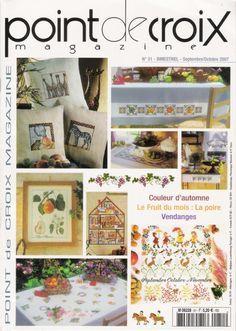 """ru / Orlanda - Album """"№ Diy Embroidery, Cross Stitch Embroidery, Cross Stitch Patterns, Cross Stitch Magazines, Cross Stitch Books, Book Crafts, Diy And Crafts, Craft Books, Le Point"""
