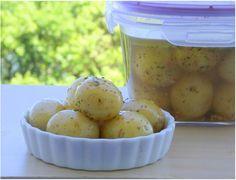 Batatas Bolinhas em Conserva - Noticias