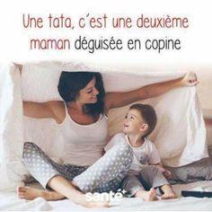 Une #tata c'est une deuxième #maman déguisée en #copine !!! #blague #drôle #drole #humour #mdr #lol #vdm #rire #rigolo #rigolade #rigole #rigoler #blagues #humours Haha Funny, Funny Jokes, Lol, We Are Family, Funny Art, Morals, I Laughed, Real Life, Messages