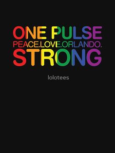 "One Pulse, Peace Love Orlando Strong"" Women's Fitted V-Neck T ..."