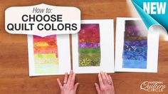 Have you ever gotten ready to start a new quilting project and been unsure of which colors to use? Here's a simple tip for choosing colors for your next http://www.nationalquilterscircle.com/video/how-to-choose-quilt-colors/?utm_source=pinterest&utm_medium=organic&utm_campaign=A219 #quilt. #LetsQuilt