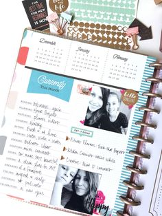 ring in the New Year w/ Rose Gold Happy Planner® products by mambi Design Team member Jen Randall | me & my BIG ideas