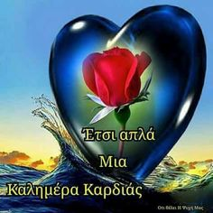 Good Night, Good Morning, Beautiful Pink Roses, Greek Quotes, Beautiful Pictures, Character Design, Perfume, Messages, Cards