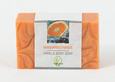 www.facebook.com/alliglemongrass You'll love the thick, rich lather and your hands and body will love the benefits of our natural ingredients.  Fresh essence with certified organic blood orange, mandarin orange, lime and vanilla essential oils. Natural exfoliating paprika added to smooth dry skin. Beautifully swirled for texture and grace at the sink or in the shower.  Hand-cut and stamped with our logo.