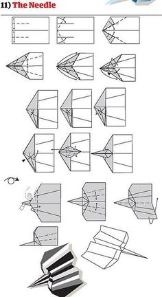 How to Build Cool Paper Planes ~ Cool Pictures