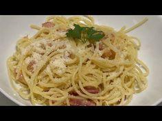 Espaguetis Carbonara en Monsieur Cuisine y Thermomix ¡Receta tradicional, sin nata! 😋😋😋 - YouTube Salsa, Robot, Connect, Bacon, Spaghetti, Ethnic Recipes, Youtube, Spaghetti Recipes, Egg Yolks