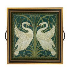 Swan tray -- Winterthur
