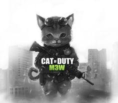 Videojuegos - Call of Duty meow!