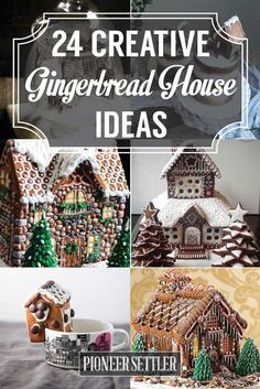 how to make an edible gingerbread house