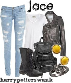 Mortal Instruments Jace inspired outfit I know it's book inspired but hey my favorite character and clothes together gonna do this