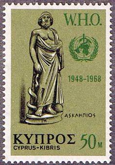 Cyprus 1968 World Health Organisation Fine Mint SG 323 Scott 318 Other Cyprus Stamps HERE