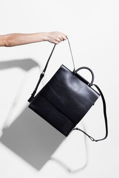 Minimal Backpack - chic style, minimalist bag // Building Block