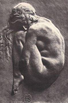 Marco Tobon Mejia ABSTRACCION. Hacia 1922. Bronce.