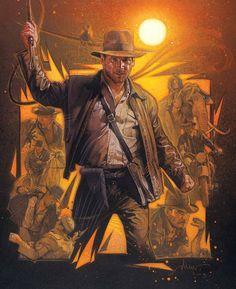 Indiana Jones by Drew Struzan.