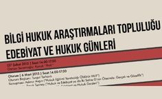 Bilgi Üniversitesi'nden Edebiyat Ve Hukuk Günleri http://www.edebiyathaberleri.com/haber/582/bilgi-universitesinden-edebiyat-ve-hukuk-gunleri.html @BilgiunivBilgi @BilgiUniversity @semihgumus