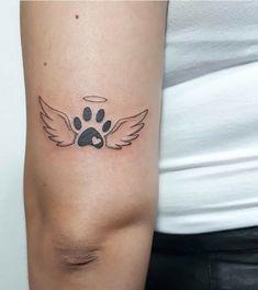 41 ideas tattoo dog cute art prints for 2019 Tattoo vorlagen Mini Tattoos, Cute Tattoos, Beautiful Tattoos, Body Art Tattoos, Small Tattoos, Tatoos, Paw Print Tattoos, Awesome Tattoos, Tattoos For Pets