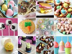 Easter's less than a week away! Whether you've got a brood of little ones ready to hunt for Easter eggs or a group of friends who loves any excuse to buy peeps, here are a dozen recipes everybunny will love!