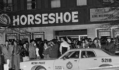 Horseshoe-Tavern in the late on Queen and Spadina. Important place for toronto punk scene. Metro Police, The New Wave, Canada, Time Travel, Old Photos, Ontario, Documentaries, Old Things, Punk