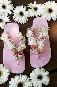 Sandalias Decoradas, descubre cómo hacer y customizar tus propios diseños