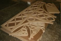 CNC Routing :: Decorative Panels and Shapes