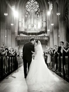 I want a pic like this! Also love the gothic, cathedral style church