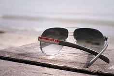 6742ea90bdbb Prada Linea Rossa Black Gradient Aviators. For the classy man. Sunglasses  2016