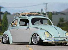 Clean & Tucked VW Beetle